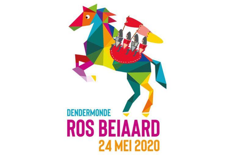 Naar het kleurrijke logo van de Ros Beiaardommegang 2020 wordt een nieuwe praalwagen gemaakt.