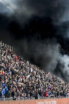 Verdachte ontkent rol bij grote rookwolk PSV-Ajax