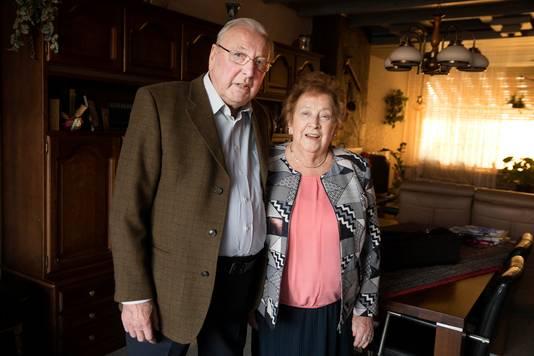Jan en Willy Spruijtenburg zijn op Valentijnsdag 65 jaar getrouwd.