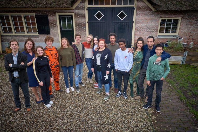 De cast van Oogappels, seizoen 2. Beeld RV