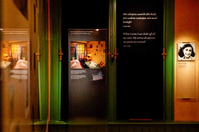 Een deel van de tentoonstelling