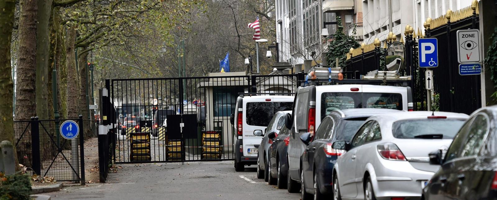 Archives (ambassade américaine à Bruxelles) en 2015