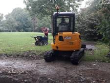 'Gras in Torckpark in paar weken weer groen'
