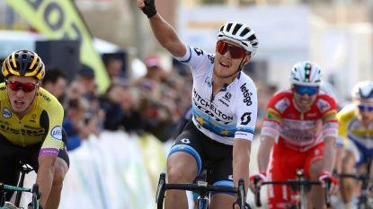 KOERS KORT 21/02. Trentin sprint naar zege in Ruta del Sol, Wellens blijft leider - Nizzolo wint in Oman - 20-jarig talent slaat toe in Algarve