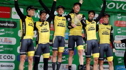 KOERS KORT. CCC nieuwe hoofdsponsor wielerploeg Vos - Roglic nieuwe leider in Groot-Brittannië na winst in ploegentijdrit