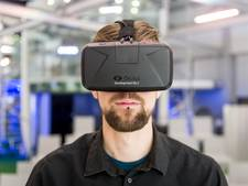 Virtual-realitybril op tijdens EHBO-les