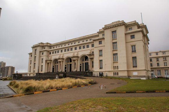 Het Thermae Palacehotel in Oostende.