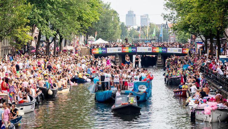 Pride 2018 Beeld ANP