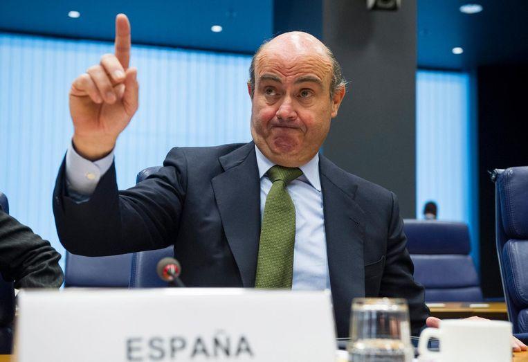 Luis de Guindos, Spaanse minister van Financiën Beeld epa