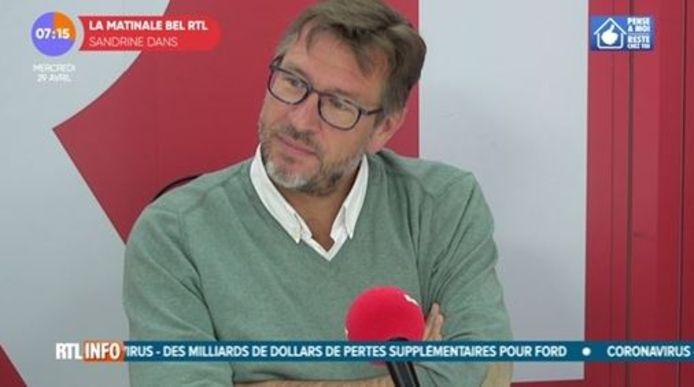 le Dr Jean-Christophe Goffard