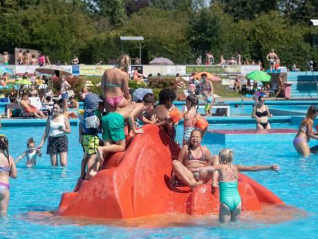 Drukte in het Bennekomse zwembad, maar geen gekkenhuis
