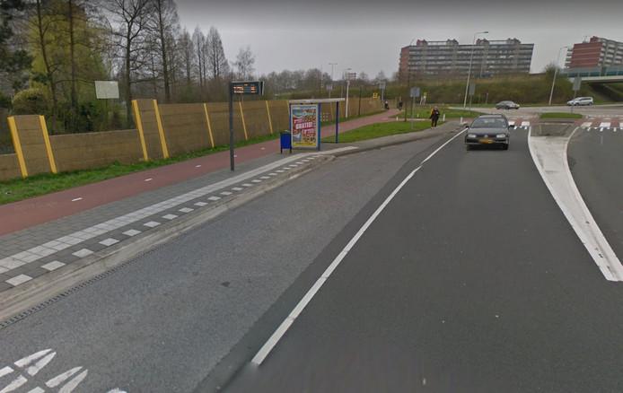 Ook de bushalte bij de N3 in Papendrecht gaat volgend jaarn op de schop.