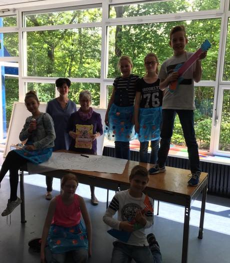 Willem van Oranjeschool in Brakel neemt de Avondvierdaagse serieus