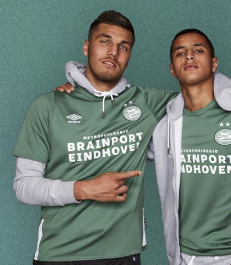 PSV lanceert groen 'streetstyle' tenue in aanloop naar open dag en duel met VfL Wolfsburg
