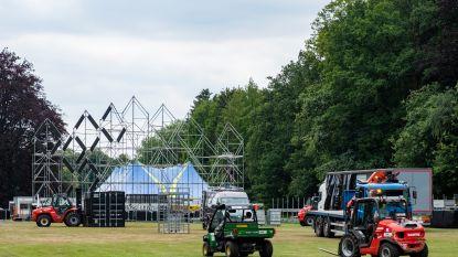 """Gemeentepark in Brasschaat bijna klaar voor The Day Before Tomorrow: """"Gedroomde locatie voor festival"""""""