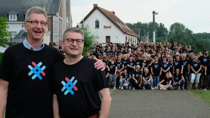 Fusiegemeente Puurs-Sint-Amands onthult hip nieuw logo