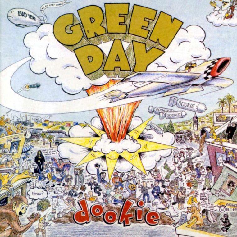 Het derde studioalbum en eerste megaseller van Green Day: Dookie. Beeld