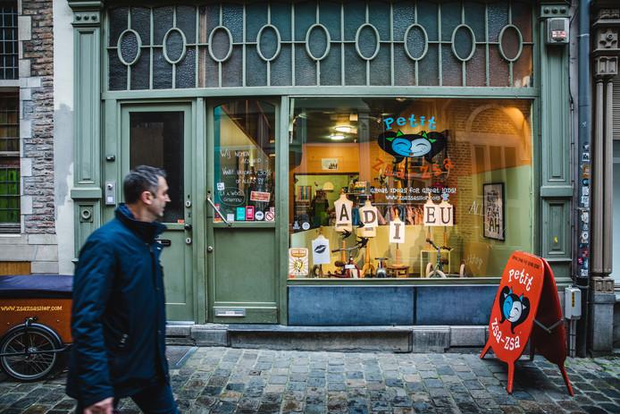 Petit Zsa-Zsa in de Serpentstraat