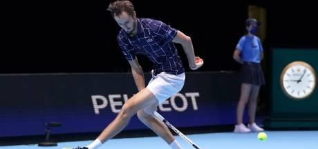 Medvedev wint ook laatste groepswedstrijd van Schwartzman