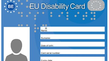 Heuvelland erkent de European Disability Card