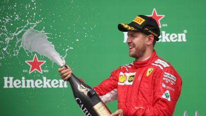 Zorgeloze Vettel blaast titelstrijd nieuw leven in door zijn vlag te planten in Montreal, Vandoorne zestiende