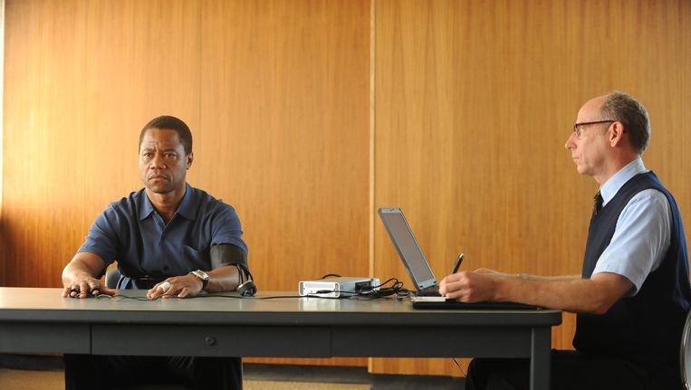 Cuba Gooding Jr. als O.J. Simpson in The People v. O.J. Simpson. Beeld ap