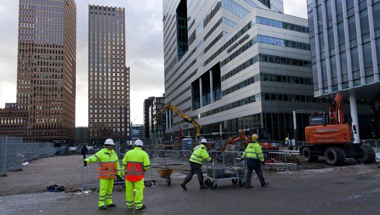 Steeds meer kantoren worden omgebouwd tot hotel, woning of winkel. Beeld Roy Del Vecchio
