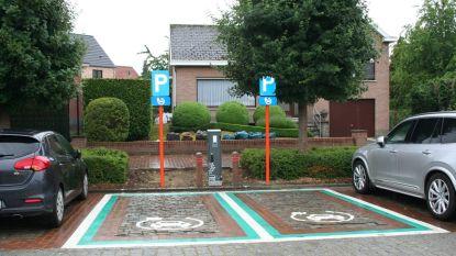 Stationsplein heeft laadpaal voor elektrische wagens