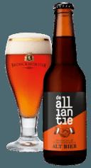 Het gezamenlijke bier 'De Alliantie' van Bronckhorster Brewing Company en Hertog Jan.