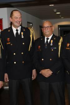 Koninklijke Onderscheidingen voor vier jubilerende brandweermannen uit Boxmeer