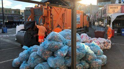 Lokerse kermisweek was goed voor 92,7 ton afval