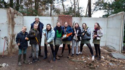 Scouts 'De Bosvogels' ruimen natuurgebieden op