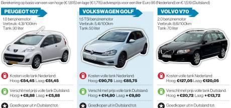 Loont goedkoop tanken in Duitsland ook als je ver van de grens woont?