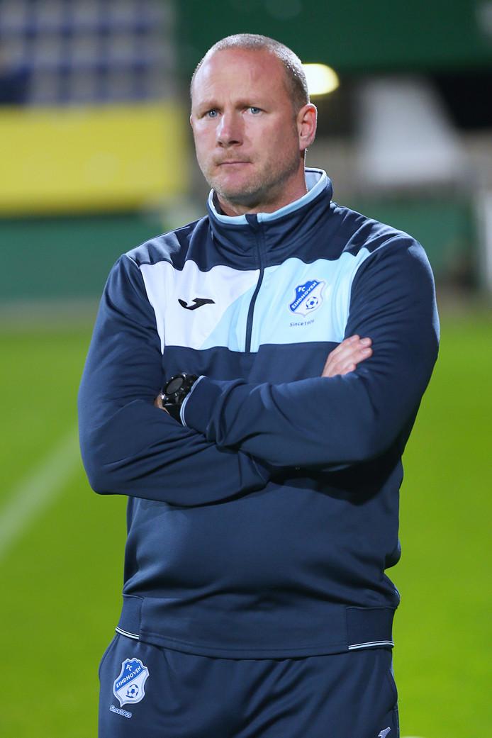 FC Eindhoven-coach Wilfred van Leeuwen.
