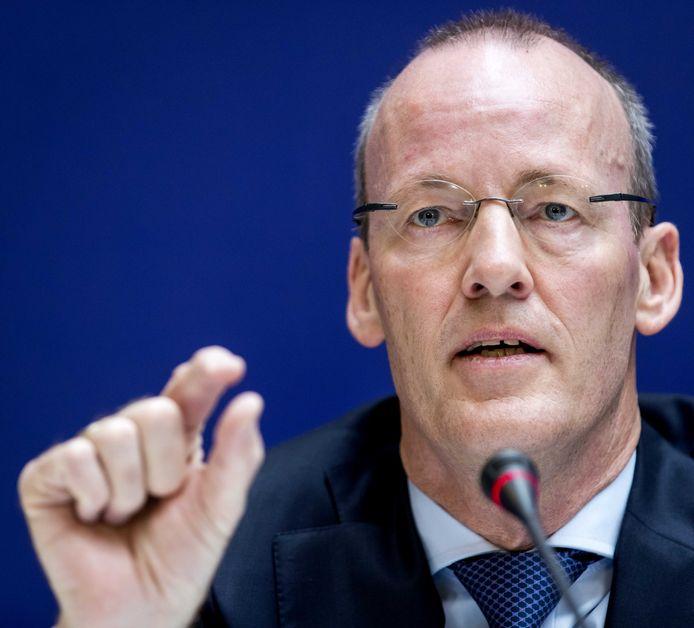 President Klaas Knot geeft een toelichting op het jaarverslag van De Nederlandsche Bank.