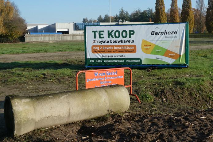 Een kavel aan Beekveld bij de Poort van Berlicum is al verkocht.