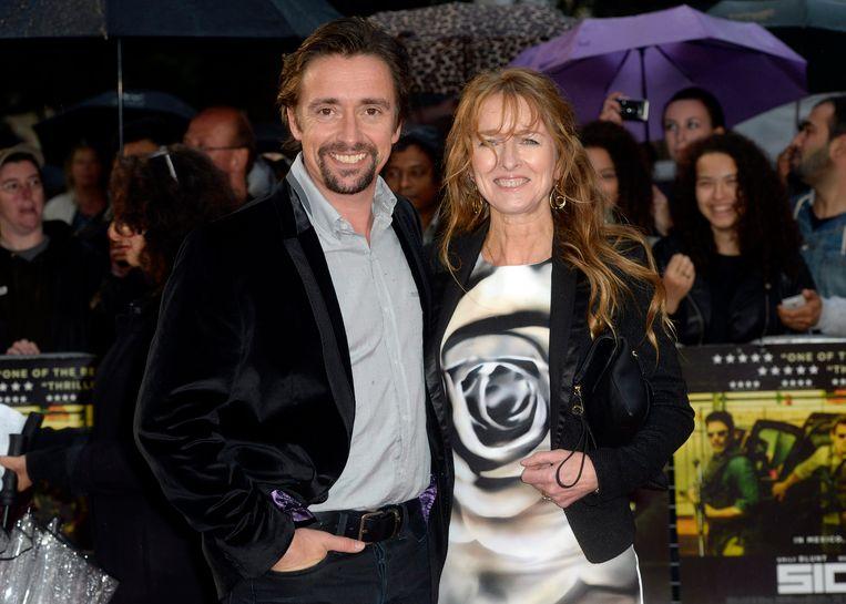 Richard Hammond (L) en zijn vrouw Amanda Etheridge
