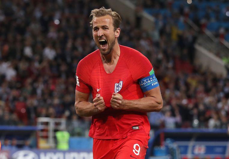 De topscorer Harry Kane. De Engelsman maakte 6 goals. Beeld Getty