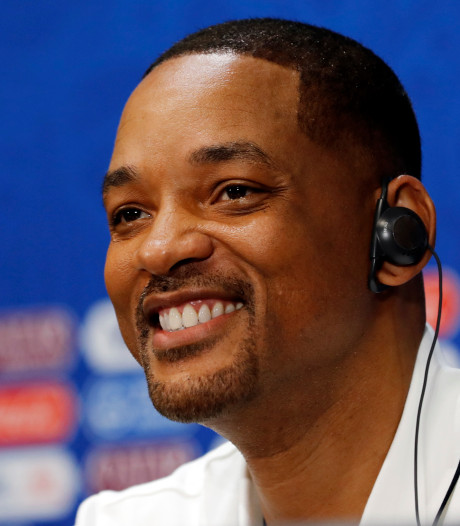 Will Smith springt uit helikopter boven de Grand Canyon