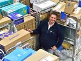 Topdrukte bij sorteercentrum PostNL in Waddinxveen: 'Mensen hier weten, het is hard werken'