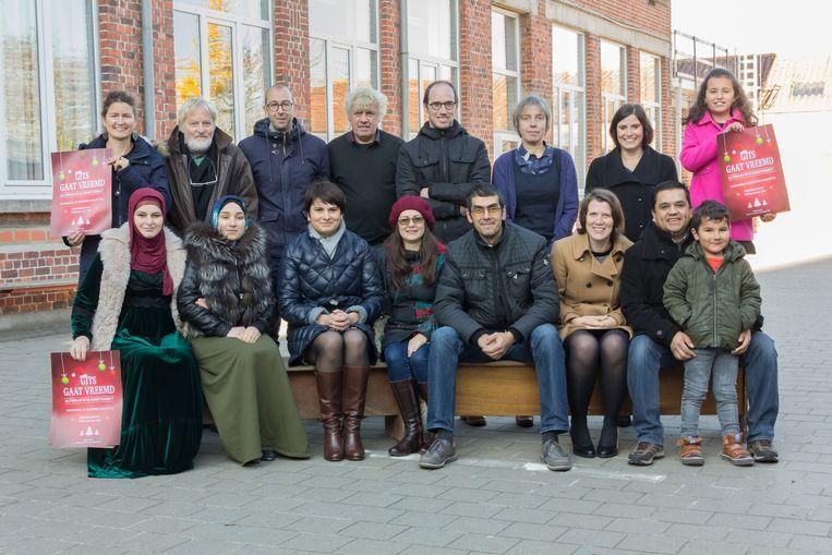 De Kultuurvereniging van Gits organiseert een alternatieve kerstmarkt.