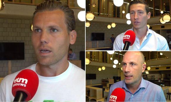 Vormer, Vanaken en Clement.