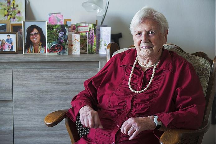 Elza Schilder-Claeys vierde haar 102e verjaardag.
