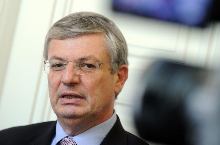 Minister van Buitenlandse Zaken van Malta, Tonio Borg. Beeld AFP