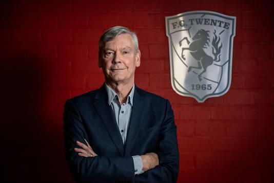 Algemeen directeur Paul van der Kraan van FC Twente.