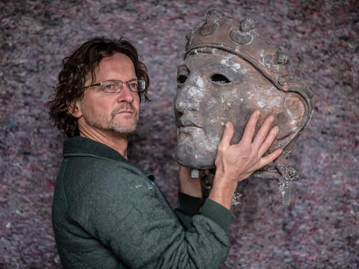 Andreas maakte icoon van de stad 'Gezicht van Nijmegen': 'een dik jaar dag in dag uit op de werf gewerkt'