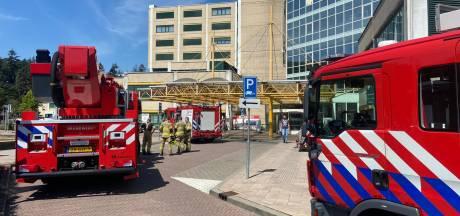 Gewonde bij brand in ziekenhuis Rijnstate