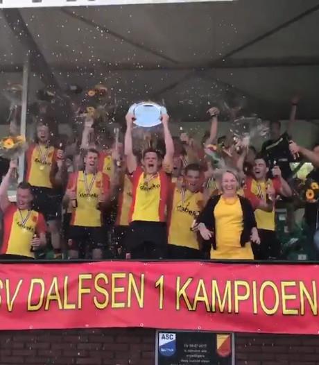 #HéScheids: Kampioensfeesten Wijhe en Dalfsen, doelman Hatto Heim maakt inschattingsfoutje