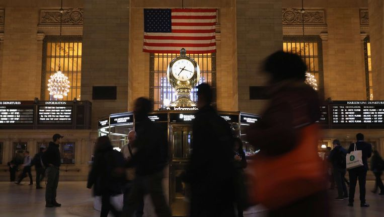 Grand Central Station in New York. Beeld null