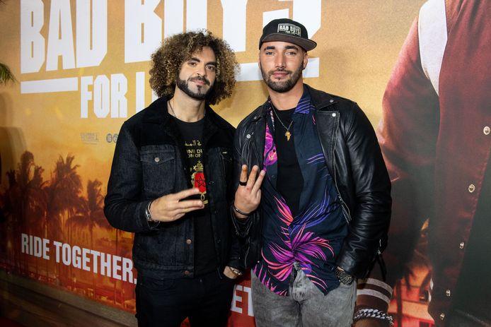 "Adil El Arbi et Bilall Fallah à l'avant-première de ""Bad Boys For Life"" à Amsterdam."